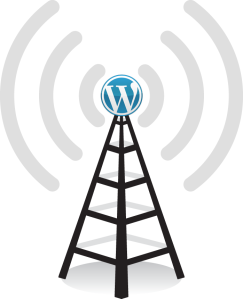WordPress broadcast tower