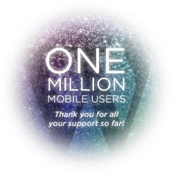 WordPress は100万人のモバイルアプリユーザーがいます。皆さんの応援に感謝します!