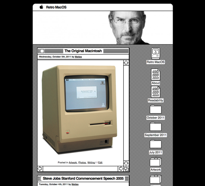 Retro Mac Theme — The WordPress com Blog