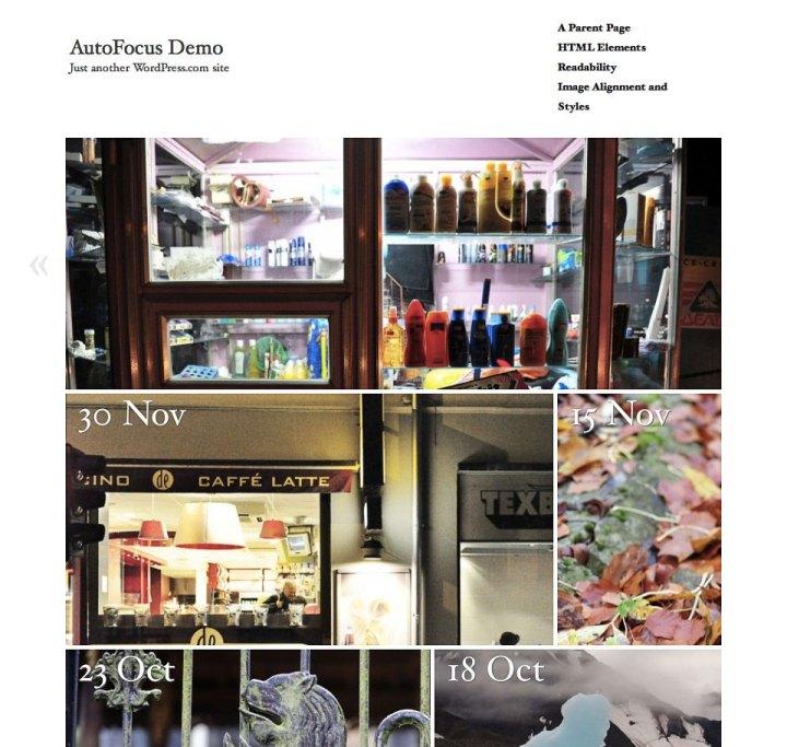 AutoFocus Home Page