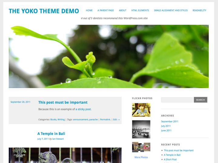 Yoko: Home Page