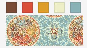 Jennie Creates color palette