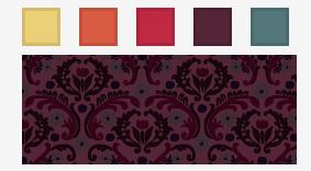 Nishita color palette