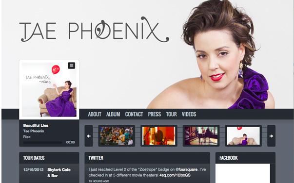 Tae Phoenix オフィシャルサイト
