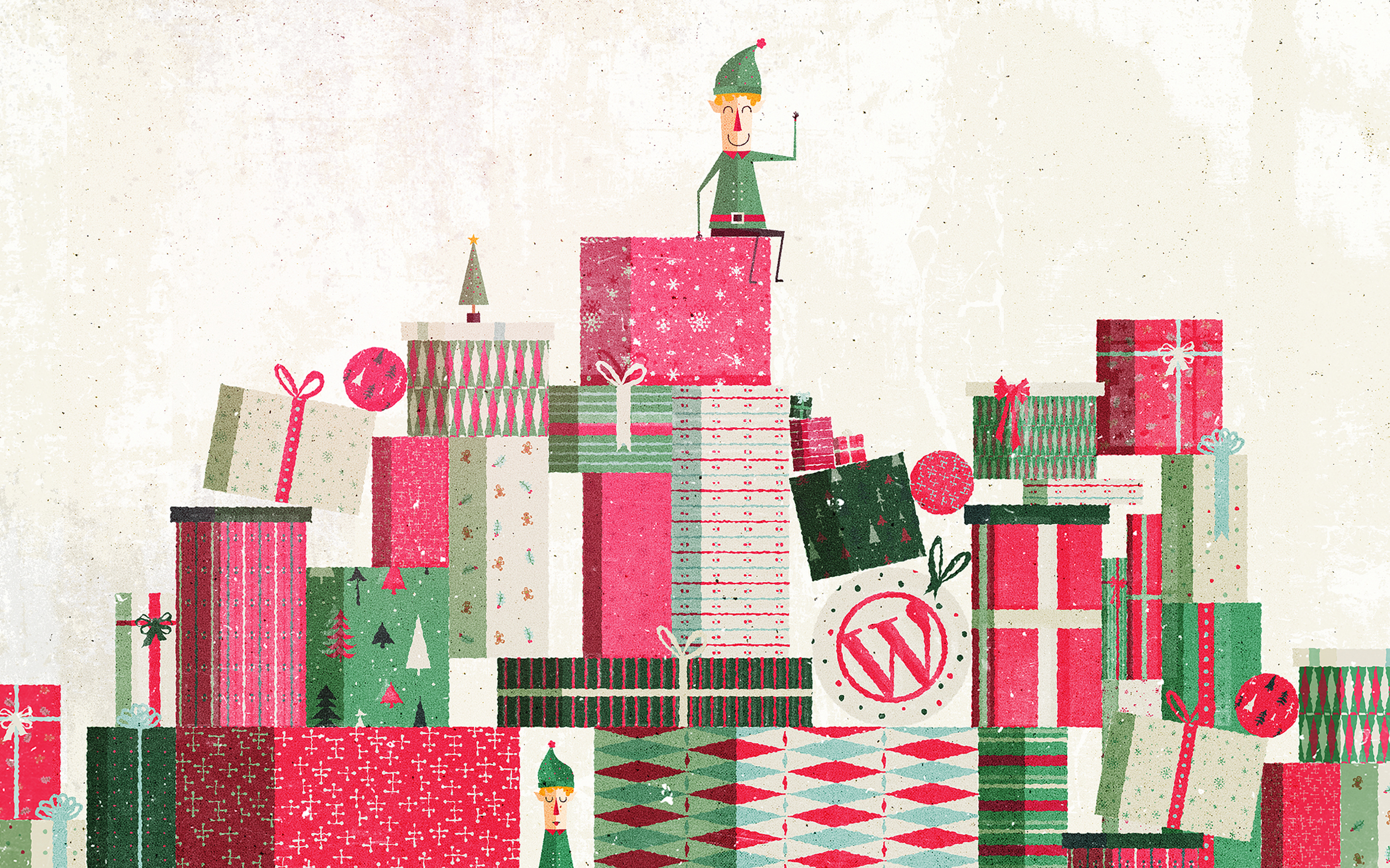 Say Cheers To Our New WordPress Holiday Theme And Desktop
