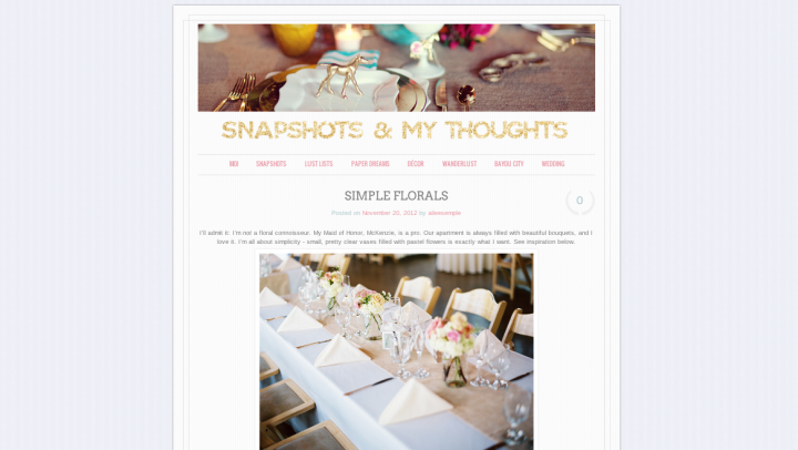 A look at wedding sites on wordpress the wordpress blog a look at wedding sites on wordpress junglespirit Gallery