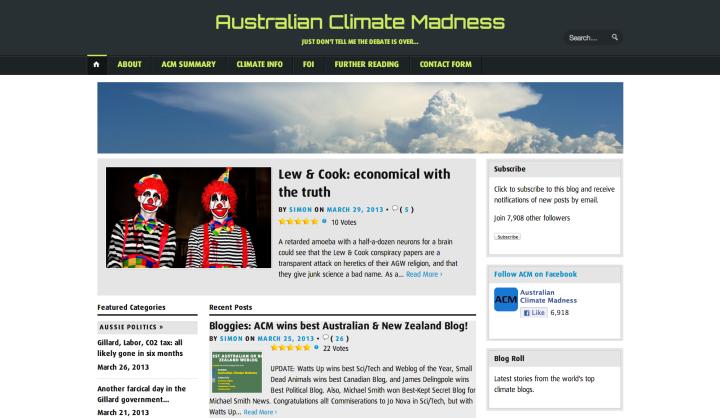 Australian Climate Madness