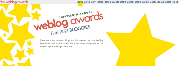 The 2013 Bloggies