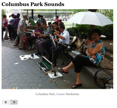 Columbia Park Sounds