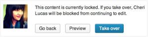 Post Locking-Take Over