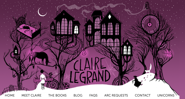 Claire Legrand Header