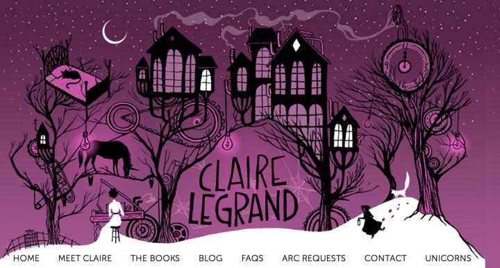 Claire Legrand Header