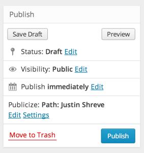 publish box