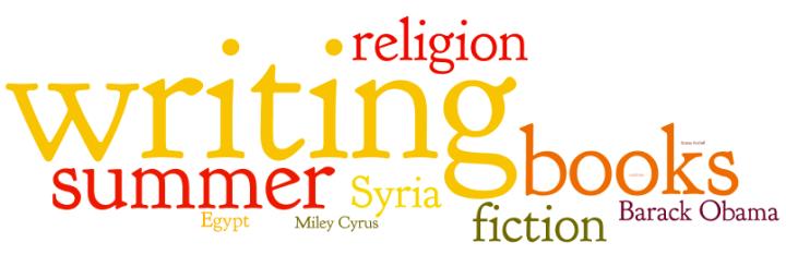 august 2013 popular topics