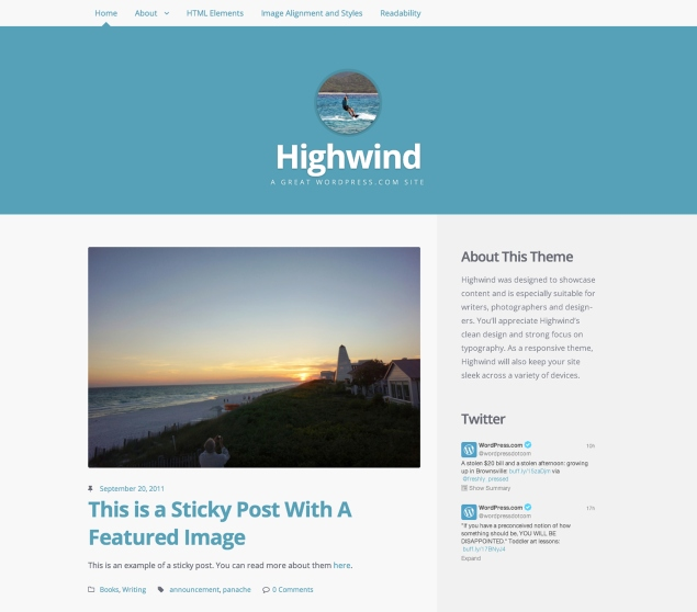 Highwind: Home Page