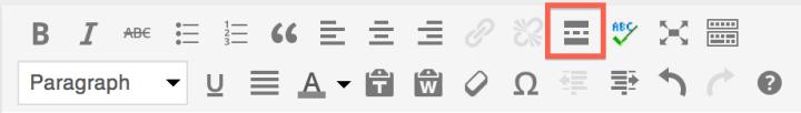 More tag button