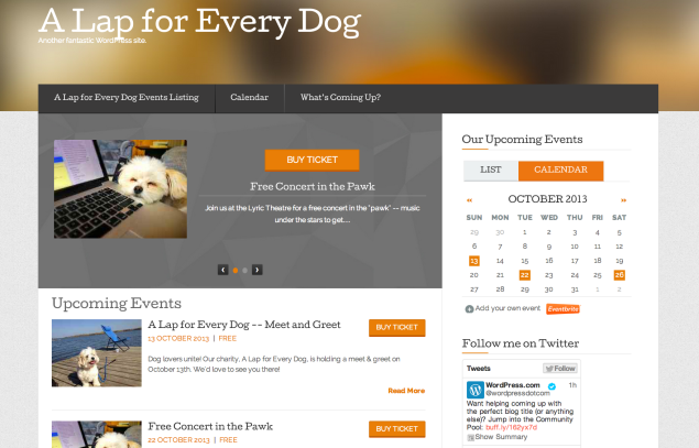 Eventbrite Multi-Event Theme