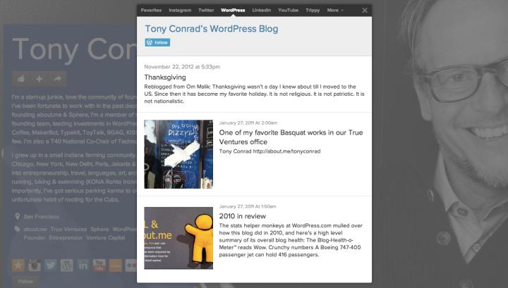 Tony Conrad's About.me Profile