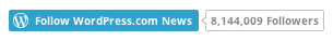 Follow Button for WordPress.com News