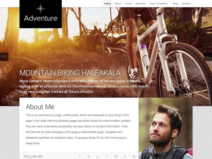 Adventure by Organic Themes