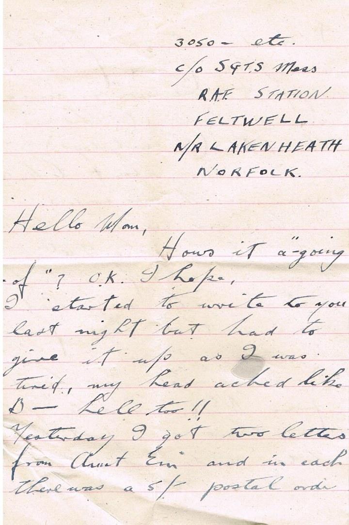 """Image via Save Every Step, Joe's Letters, WWII: """"Final, Final, Final Exams"""""""