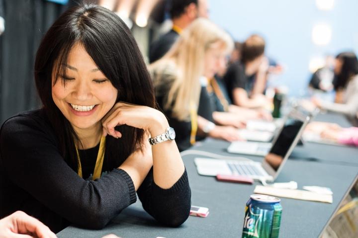 Tokyo-based Automattician Naoko Takano, from Team Global.