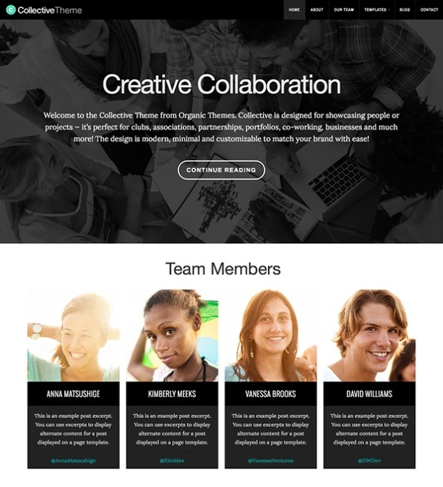 Collective by Organic Themes