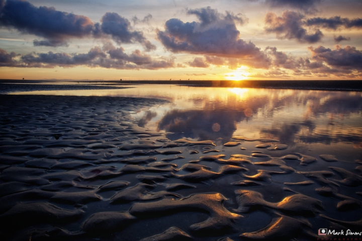Sand shapes.
