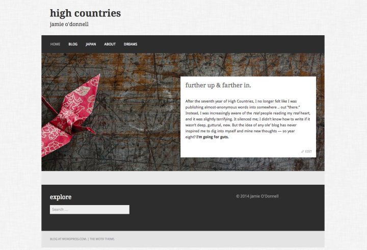 motif theme high countries