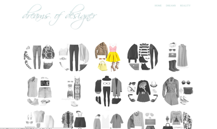 dreams of designer spun theme