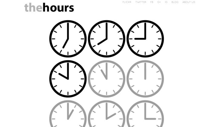 the hours spun theme