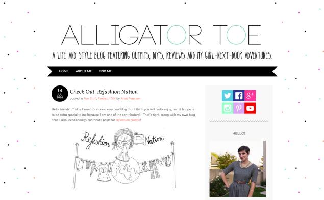 alligator toe