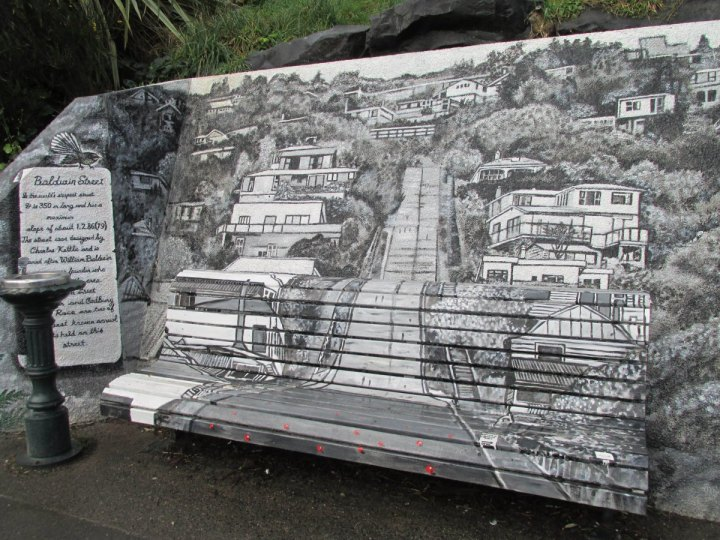 Baldwin Street Art by Daniel Mead (Photo by Caitlin and Helen Owen)
