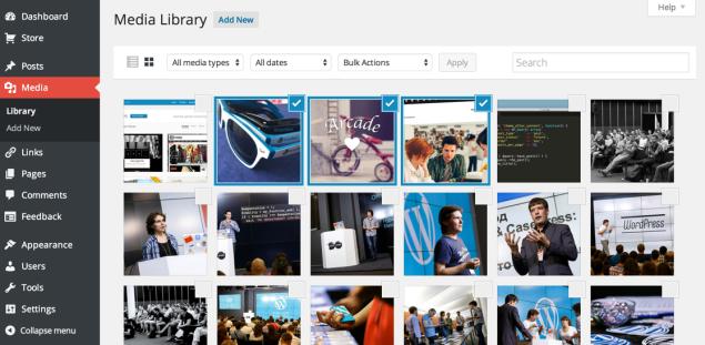 New Media Library