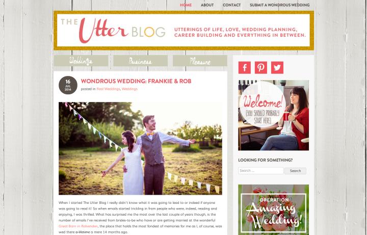 utter blog