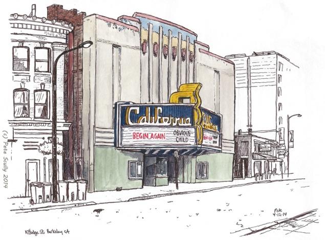 """Sketchcrawl 44: UC Berkeley,"" Pete Scully"