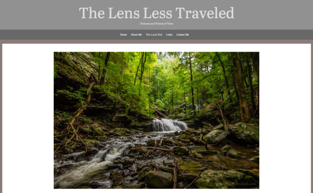 lens less traveled