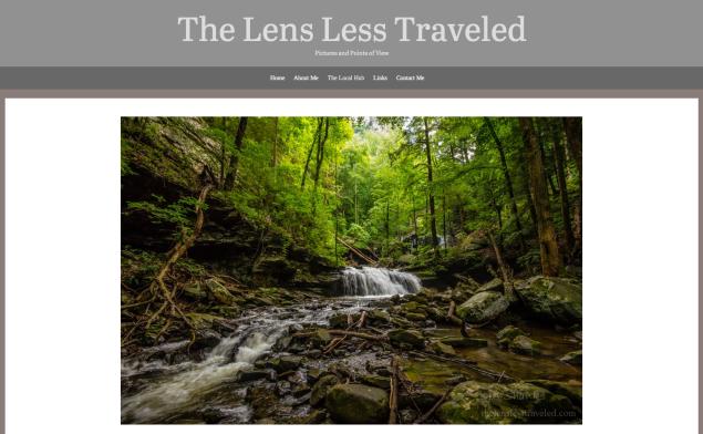 lens less traveled
