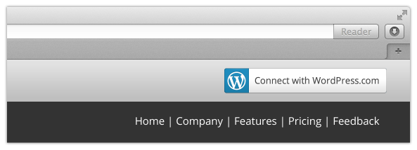 WordPress.com Sample Integration