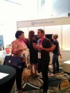 Bilingual Code Wrangler Damian helps out a user in his native Spanish.