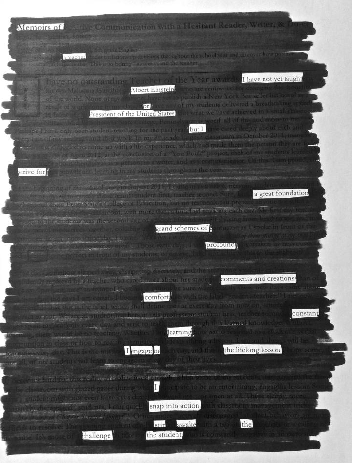 """""""Memoirs of a Teacher (Day 1)"""" by Ochwoman"""