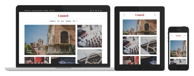 Canard: Responsive Design