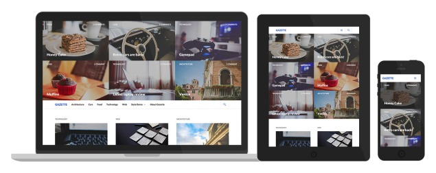 Gazette: Responsive Design