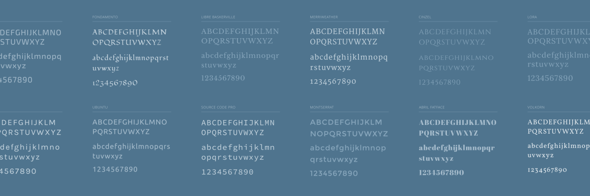 Google Fonts: Free Typefaces for Your Site — The WordPress