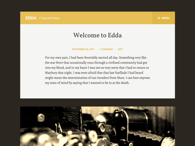 Edda WordPress theme