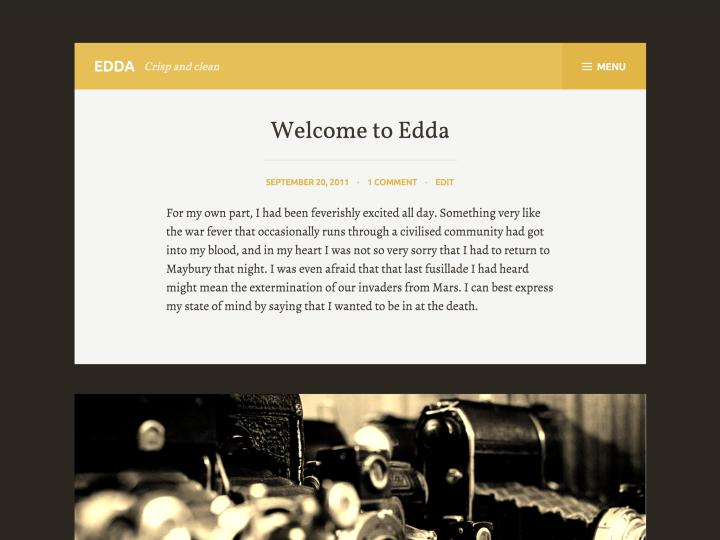 Edda WordPress theme