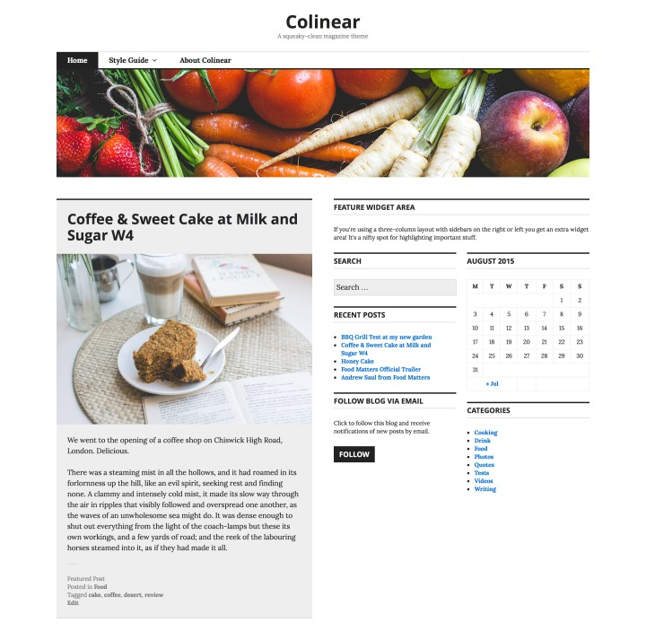 Colinear: Homepage