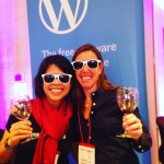Marjorie Asturias and Andrea Badgley at Wine Tourism Conference 2015