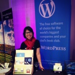 Marjorie and WordPress.com at Expo