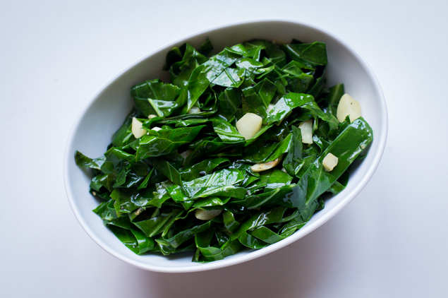 Brazilian Collard Greens, by  Russ randall